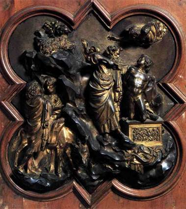 Ghiberti, Sacrifice of Isaac, Competition Panel